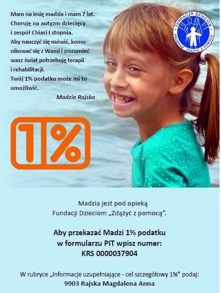1% podatku dla Madzi