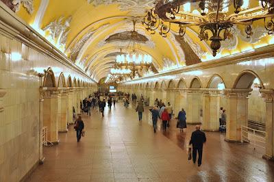 Komsomólskaya - Metro de Moscú