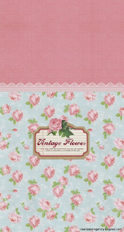 Vintage Flowers Pattern Sign iPhone 5s Wallpaper Download  iPhone