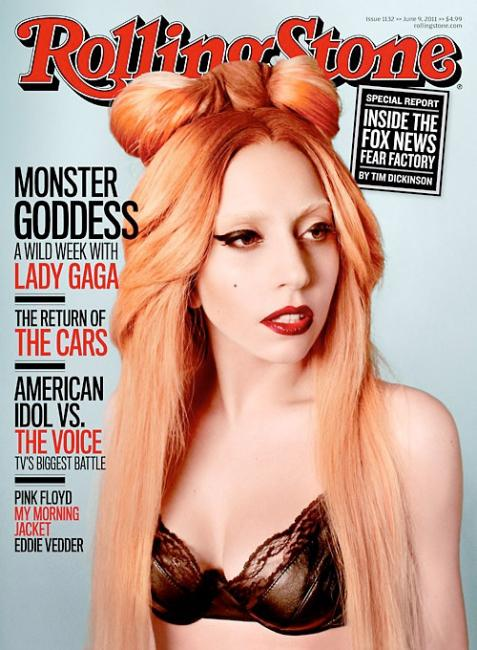 "GaGa REALLY (No, REALLY) Looks Normal On ""Rolling Stone"" Magazine"