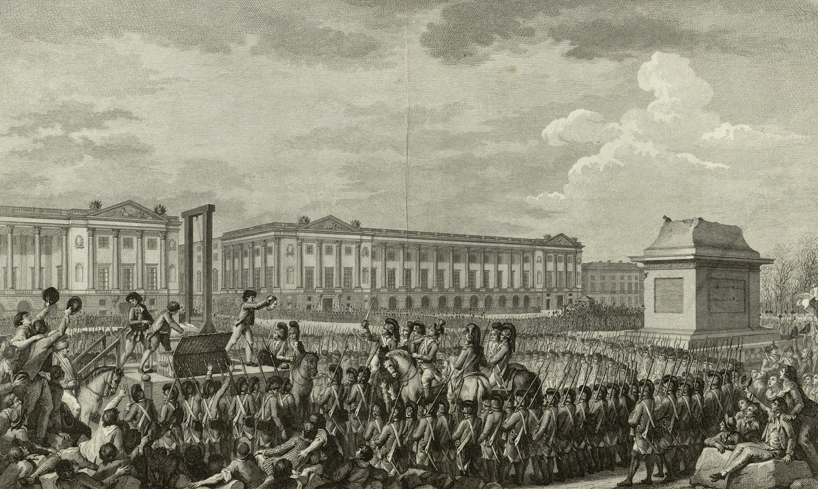 Execution of King Louis