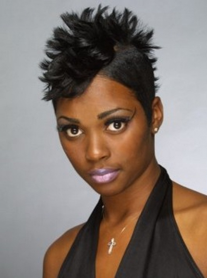 MEDIUM HAIRCUTS FOR WOMEN: SHORT BLACK HAIRCUTS CAN CHANGE