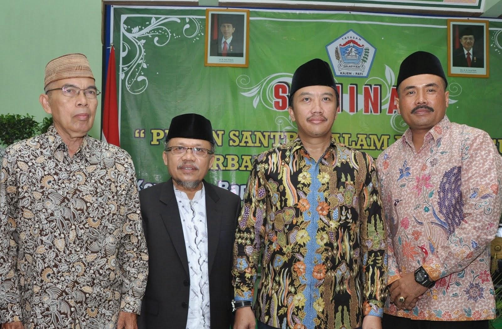 KH. Imam Shofwan, Menpora H. Imam Nachrawi & Wabup HM. Budiyono, SH