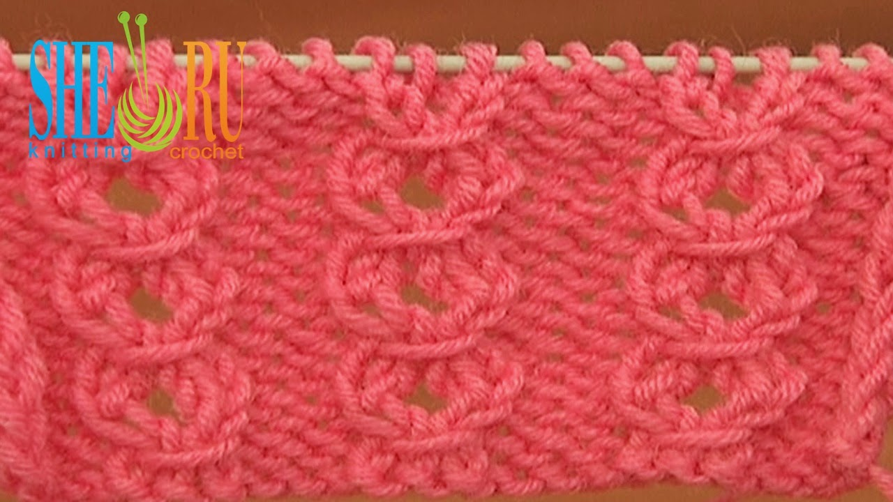 Sheruknitting Knitting Stitch Pattern Tutorial 21