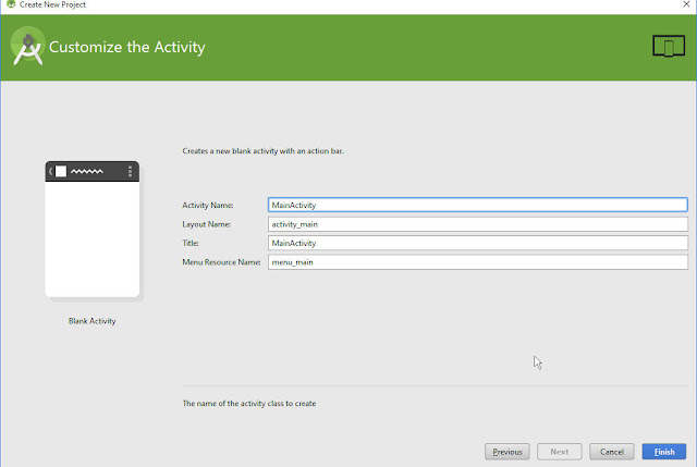 How to Create New Project on Android Studio