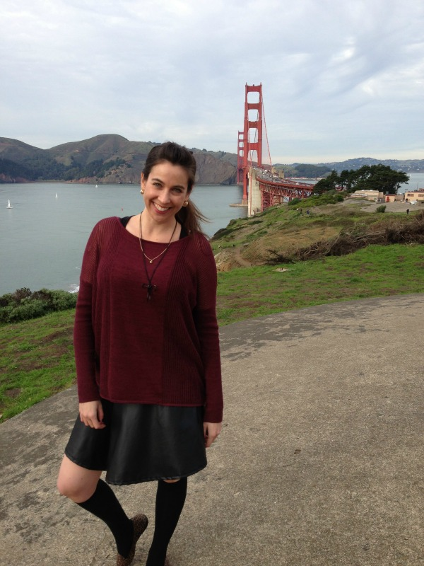 Leather Skirt, San Francisco Fashion and Beauty Blogger