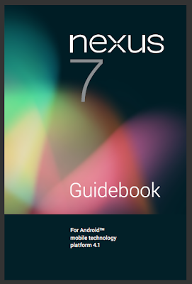 Google Nexus 7 Manual Cover
