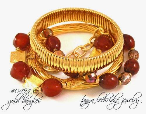 Carnelian & Gold Vermeil