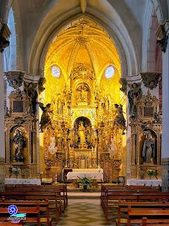 Sevilla - Retablo de la Iglesia del Convento de Santa Inés