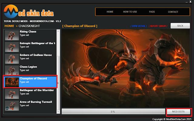 Chaos Knight Champion of Discord