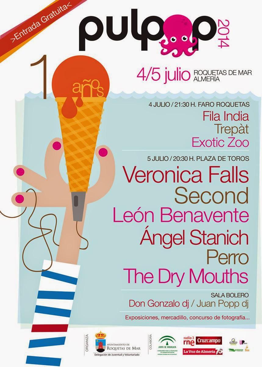 PULPOP Festival - 10 AÑOS APOSTANDO POR LA MÚSICA, entrada gratuita