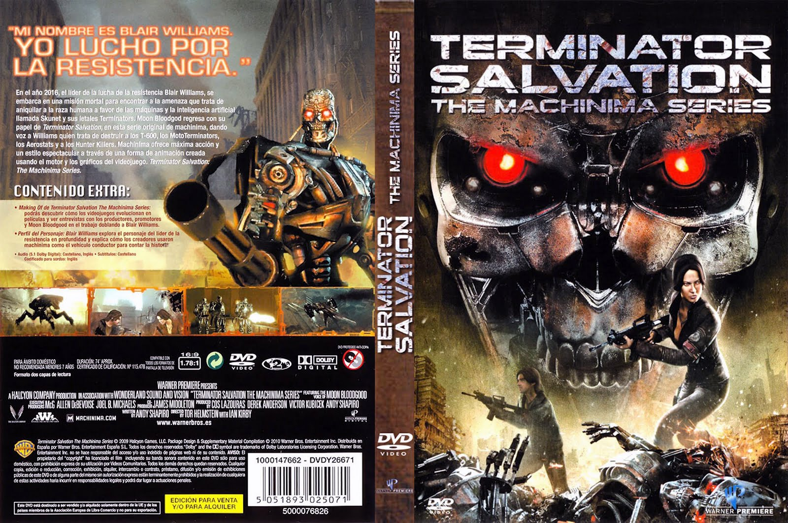 Terminator Salvation Movie Dvd Cover