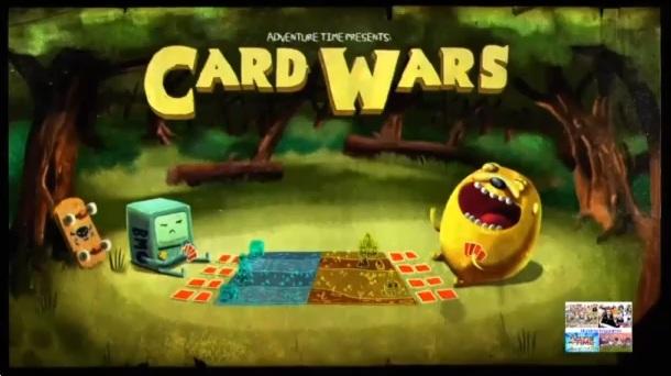 Hora de Aventuras - La Guerra de las Tarjetas HD