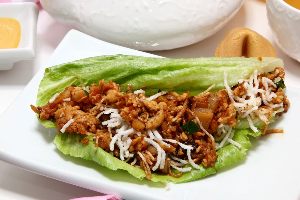 The Home Cooking Kitchen: Homemade PF Changs Chicken Lettuce Wraps