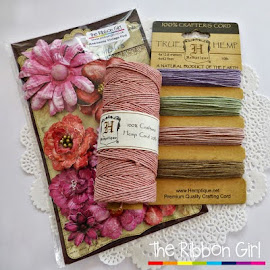 Ribbon Girl Twine & flowers giveaway