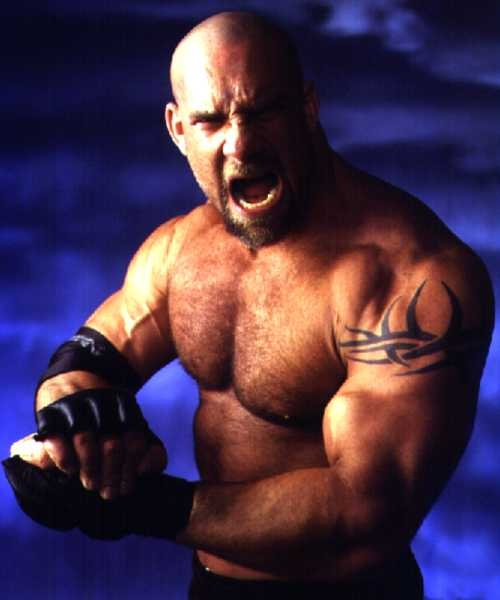 wwe tattoos. Bill Goldberg Tattoos