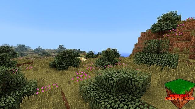 Biomes O' Plenty Mod Minecraft tinte rosa
