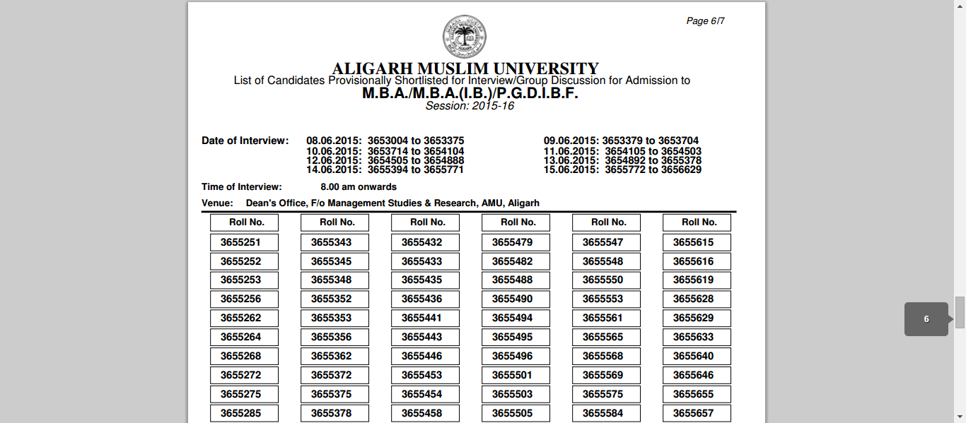 amu-mba-results-2015
