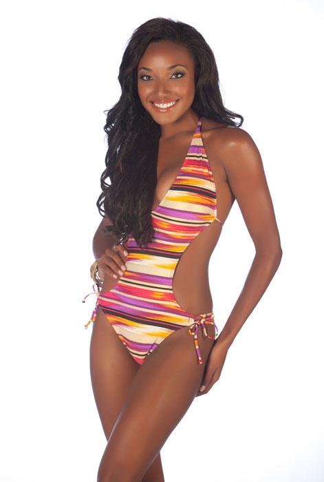 Swimsuit Photos - Miss Bahamas - Anastagia Pierre