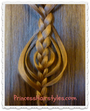 Cookie Cutter Braids princesshairstyles.com