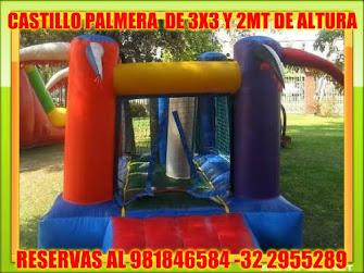 MINI CASTILLO PALMERA DE 2,5 X3,5 MT.2 MT ALTURA. SOLUCIÓN ESPACIOS REDUCIDOS!!!