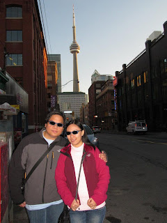 Downtown Toronto Canada Toronto CN Tower
