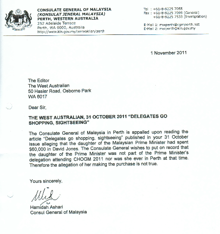 Job Application Letter Sample Malaysia