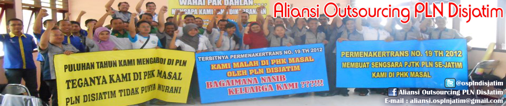 Aliansi Outsourcing PLN Disjatim