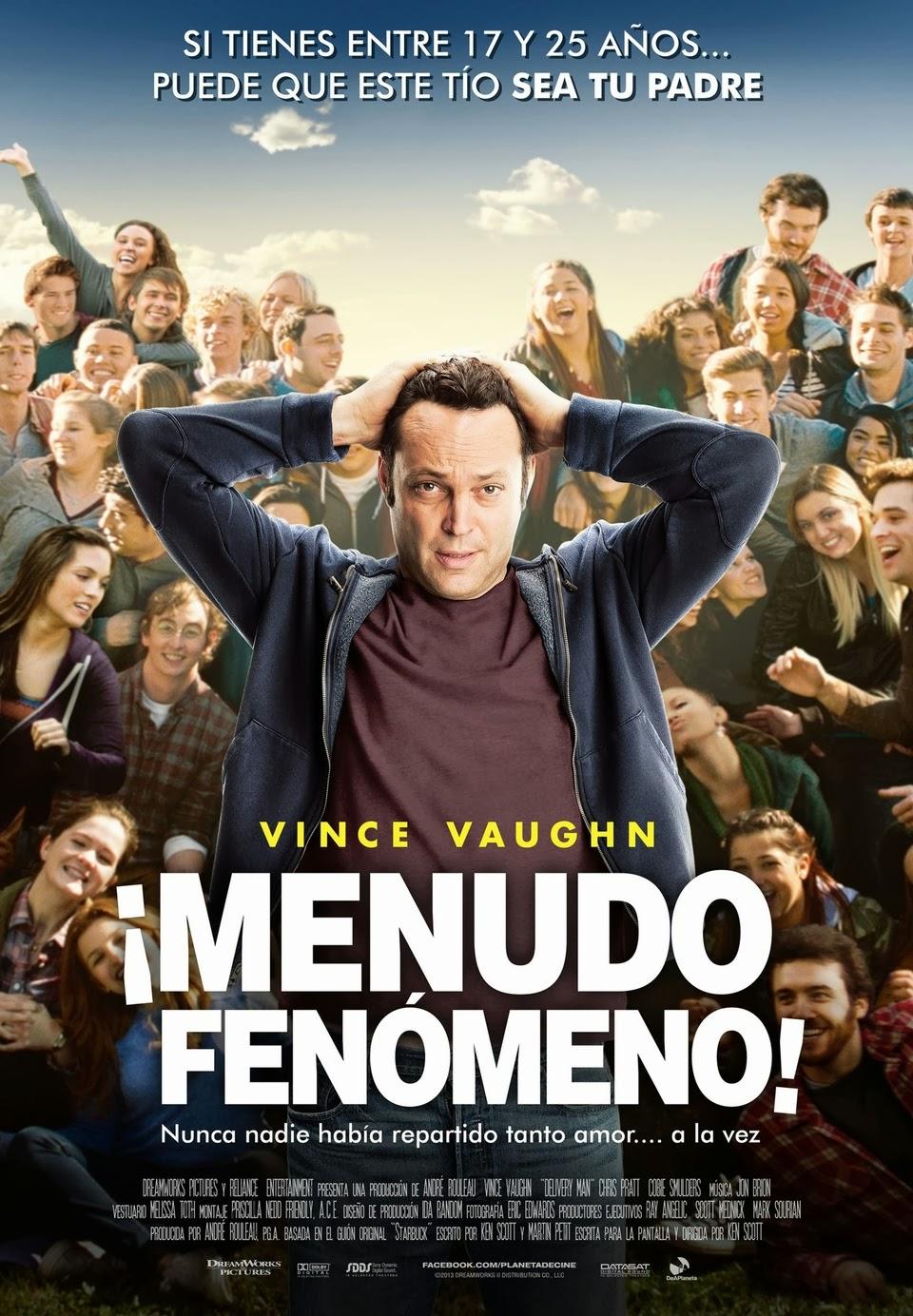 ¡Menudo fenómeno! (Delivery Man) (2013)