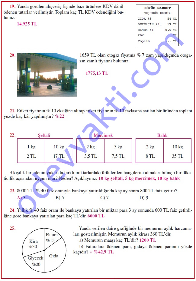 matematik ders kitabı cevapları matematik calışmaları indir