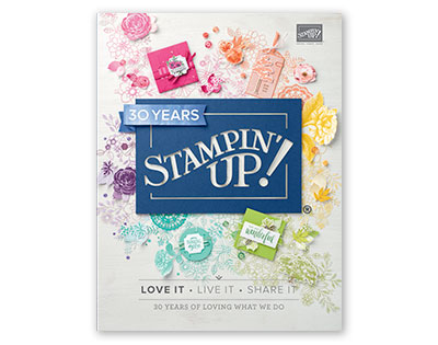 Stampin'Up jaarcatalogus
