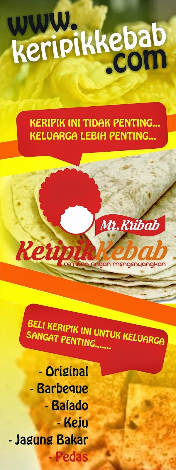 Keripik Kebab Mr Kribab Peluang Reseller