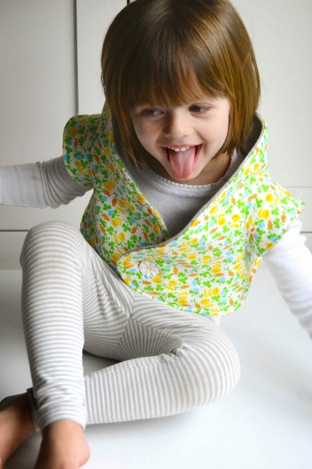 how to make a shrug from fabric
