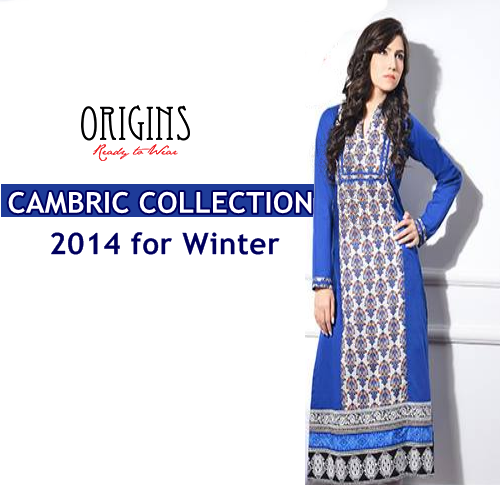 Origins Cambric Collection 2014-15