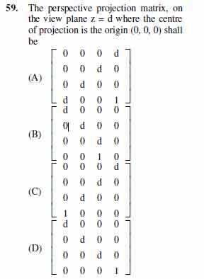2012 June UGC NET in Computer Science and Applications, Paper III, Question 59