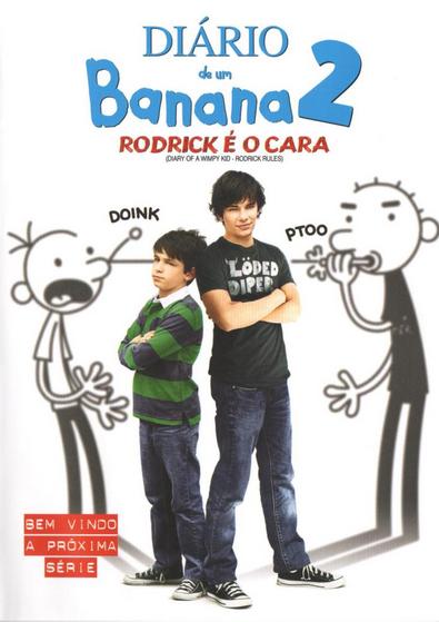Filme Diário de Um Banana 2 Rodrick é O Cara Dublado AVI DVDRip