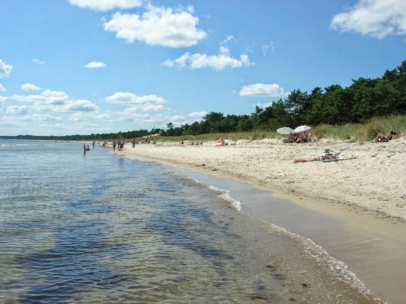 Spiaggia a sud di Åhus