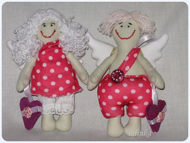 валентинки любовь день валентина своими руками рукоделие