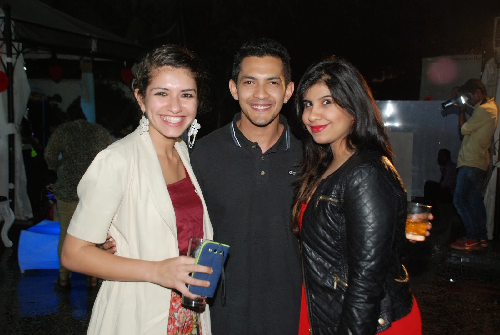 Singer Aditya Narayan at Villa 69