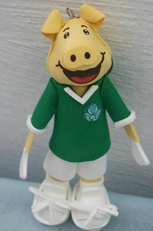 FOFUCHO MASCOTE DO PALMEIRAS (EM EVA)