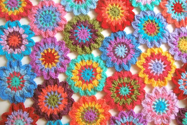 Free Pattern Crochet Japanese Flower : Japanese Crochet Flower Blanket Pattern www.imgarcade ...