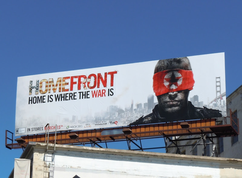 Homefront game billboard