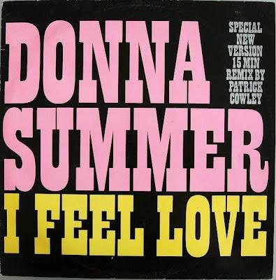 Donna Summer - \'I Feel Love\' [Patrick Cowley Remix] (12\'\' Maxi Single) 1982 hi-nrg disco classic