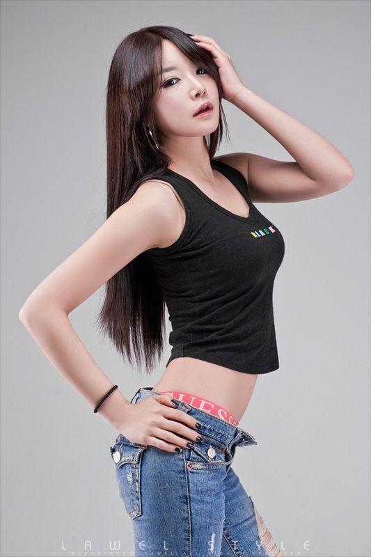 Korean Model Lee Eun Seo