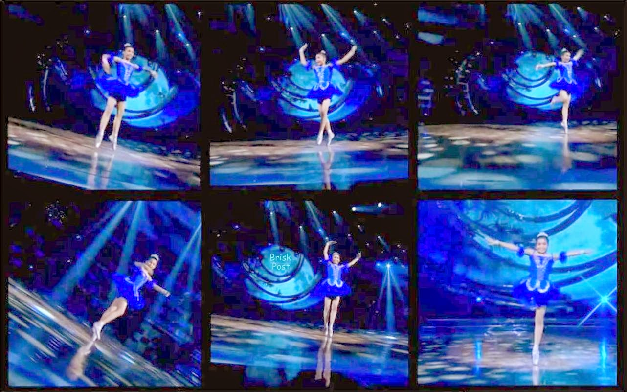 Anudita performed Point Ballet Dance at DID Little Masters