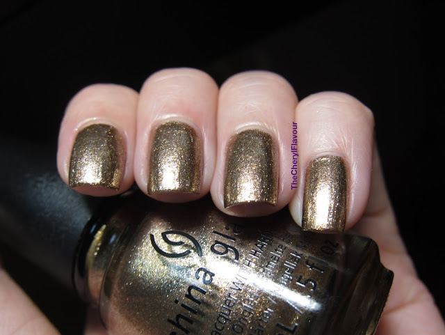 China Glaze Goldie But Goodie