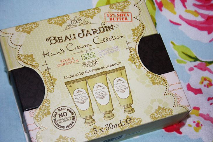Pretty wild things heavenly hand cream for Beau jardin hand cream collection