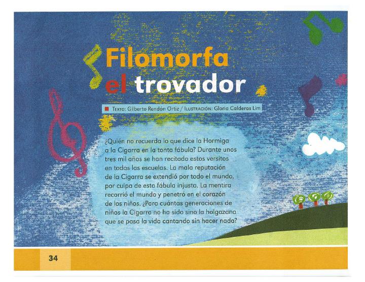 Filomorfa el trovador español 2do bloque 5/2014-2015