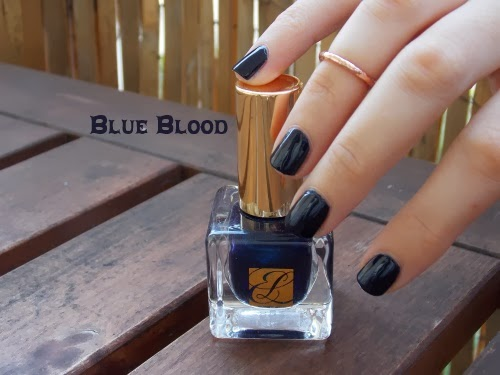 blue blood estée lauder, blue blood polish, vernis blue blood