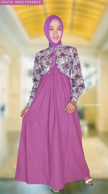 warna gamis muslim